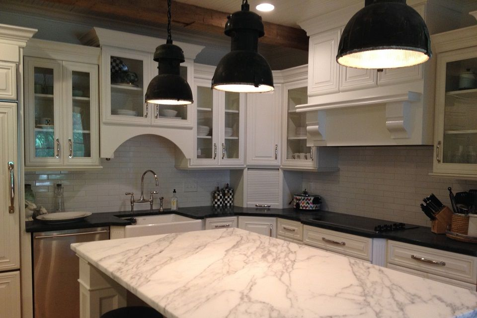 Additional view of kitchen we remodeled in Jackson, MS ...