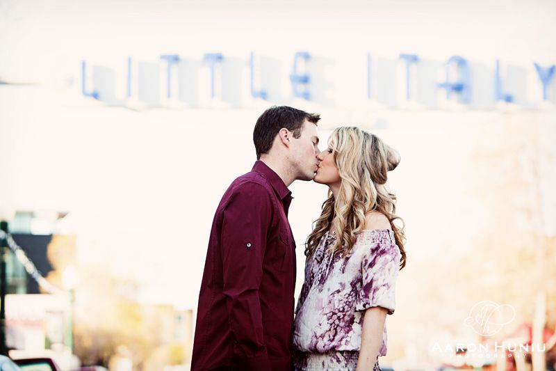 Alissa + Tyler | Engagement Session | Little Italy, San Diego, CA » Aaron Huniu Photography