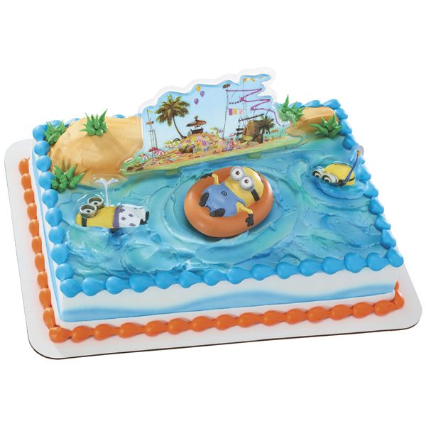 Despicable Me 2 Beach Party So glad Publix has this cake design