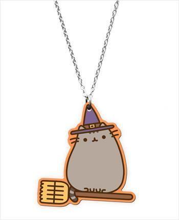 Halloween Pusheen cat pendant. Too cute!
