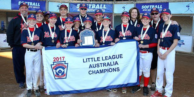Hills Little League From Sydney Returns To Williamsport After Winning The 2017 Little League Baseball Australia Region Championship Little League Little League Baseball League
