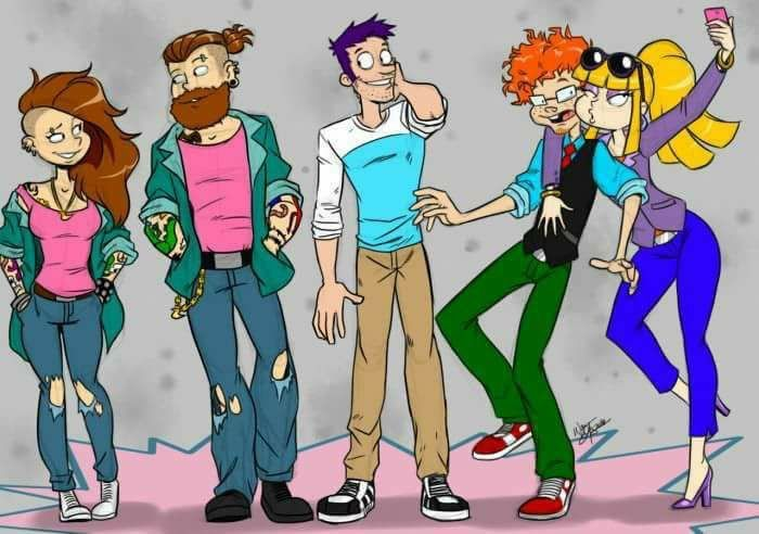 All grown up for real! We're geeking on this rugrats ...