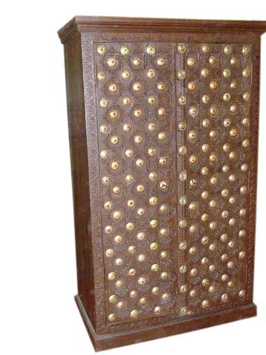 HANDMADE Brass Chic Rustic Vintag Armoirestorage by MOGULGALLERY