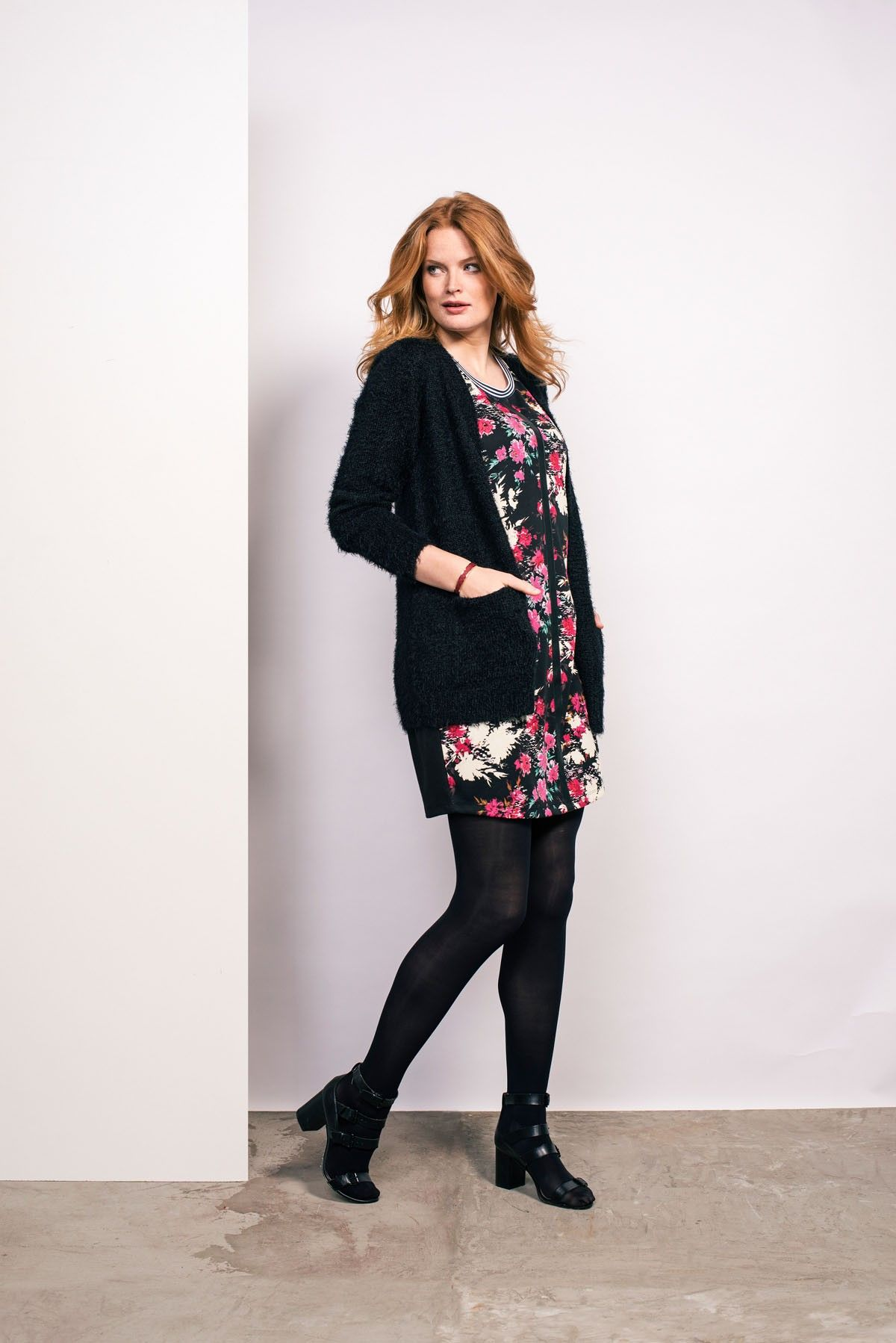 Casual Flower Print Tienda Online Ms Mode Moda Curvy Pinterest