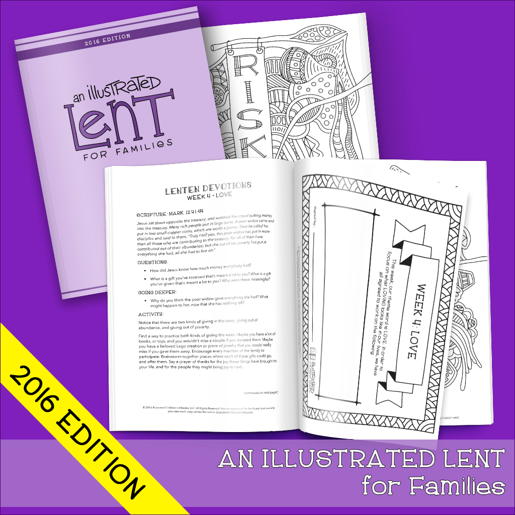 An Illustrated Lent For Families