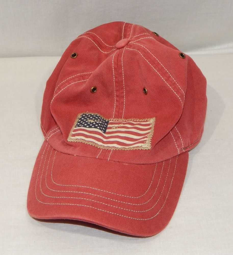 044ada9f POLO RALPH LAUREN MENS USA FLAG PONY LOGO BASEBALL HAT CAP RED ADJUSTABLE  WOW #fashion #clothing #shoes #accessories #mensaccessories #hats (ebay  link)