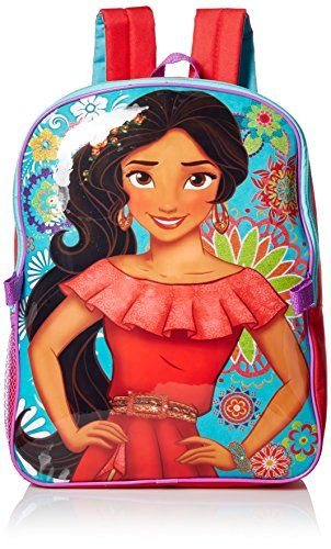 red Disney Girls Elena Backpack