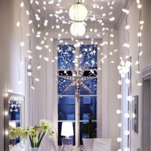 Ikea Strala Curtain Of Snowflakes Led Holiday Lights Ikea Ikea