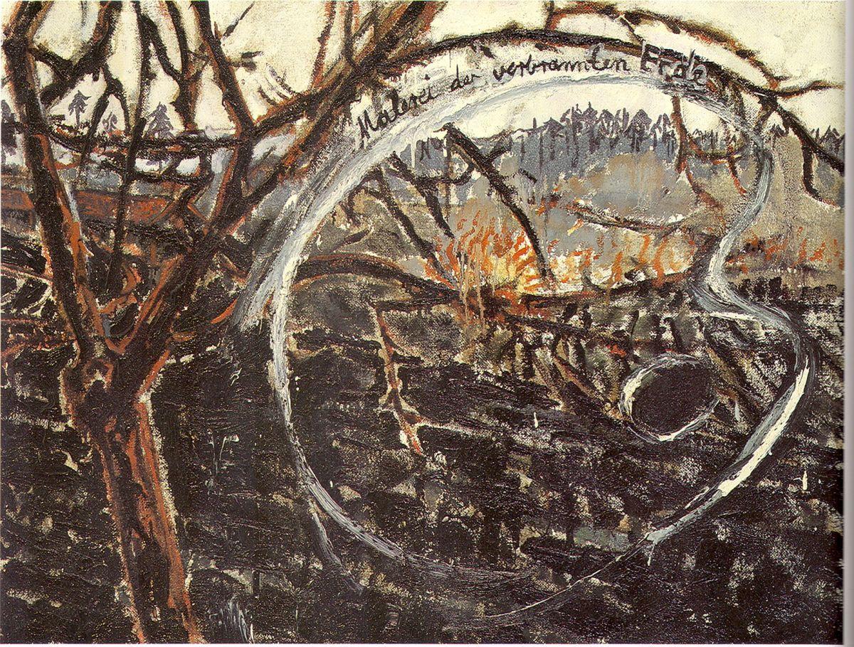 fk scPintura de la tierra quemada 1974 Anselm Kiefer