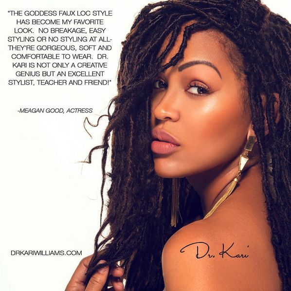 Meagan Good for Goddess Faux Locs Campaign - BellaNaija - January2016005
