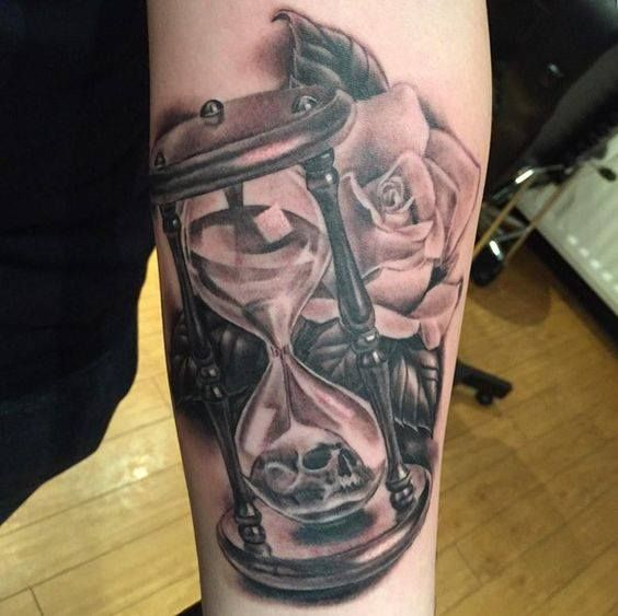 Symbolic Meaning Of The Hourglass Is Emphasizing The Importance Of