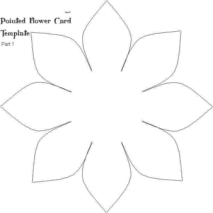R sultat de recherche d 39 images pour dessin fleur verte d couper bricolage et diy mod le - Coloriage fleur 8 petales ...