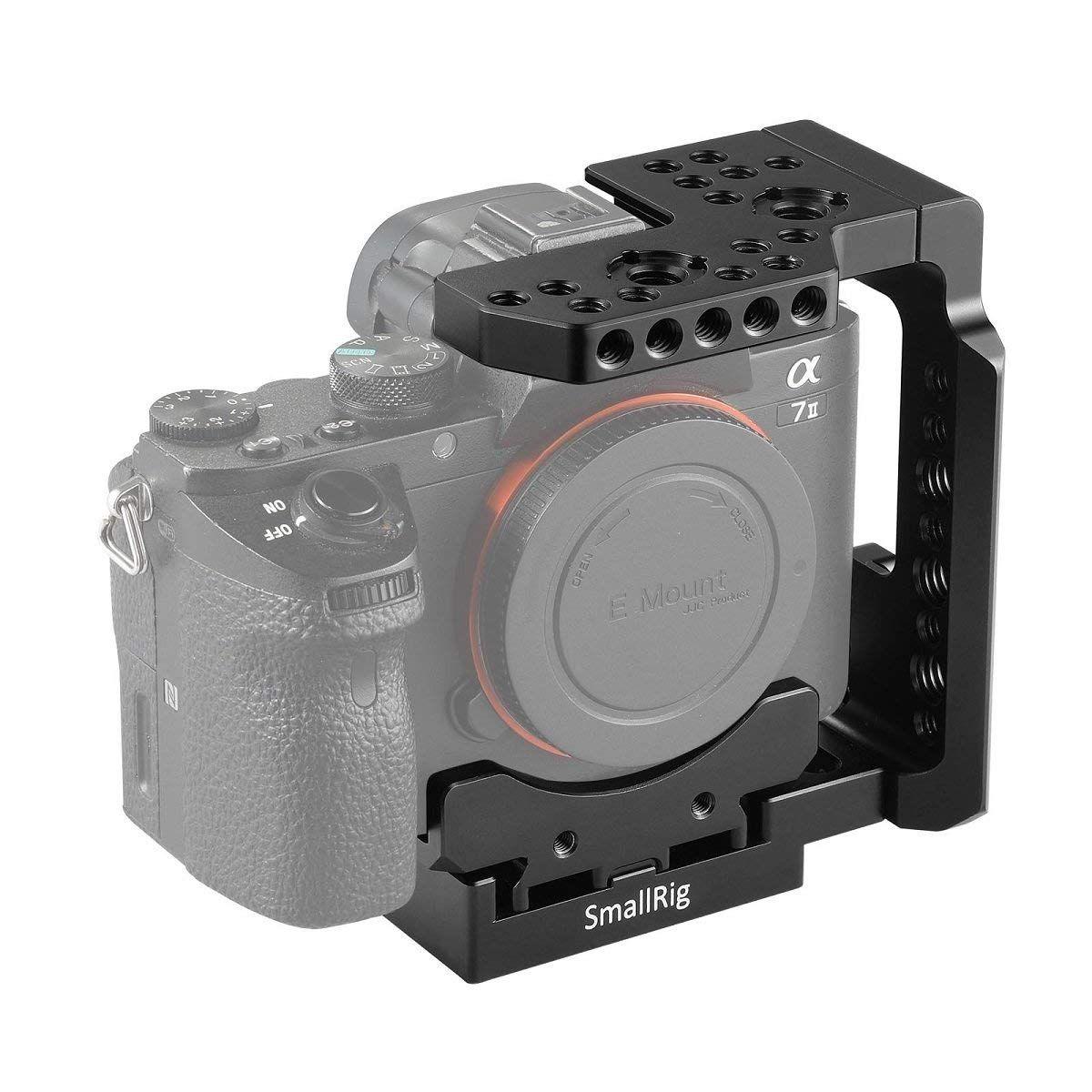 Smallrig A7 Kafig Fur Sony A7 Iii Amazon De Kamera Sony