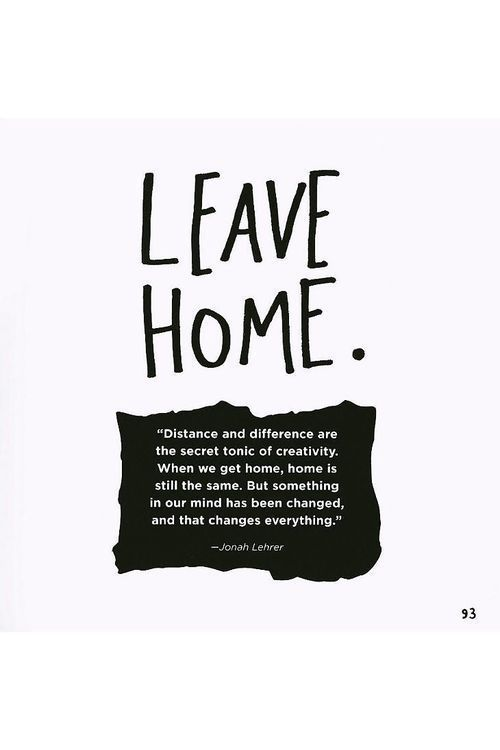 i dare you to leave your home and live inspirational words