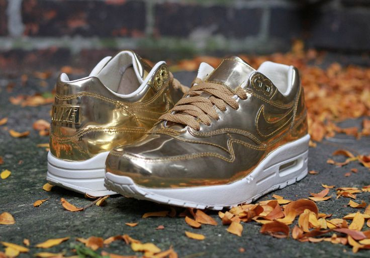 "best cheap f58dd a0a8c Sneakers - Women s Fashion   Nike WMNS Air Max 1 SP ""Liquid Gold""... -  YouFashion.net   Leading Fashion   Lifestyle Magazine"