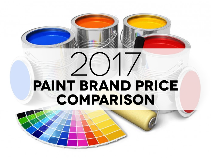 Paint Price Comparison 2017 Includes 22 Major Brands With Details You Want To Know Per Gallon Sq Ft Coverage Spread Rate And More