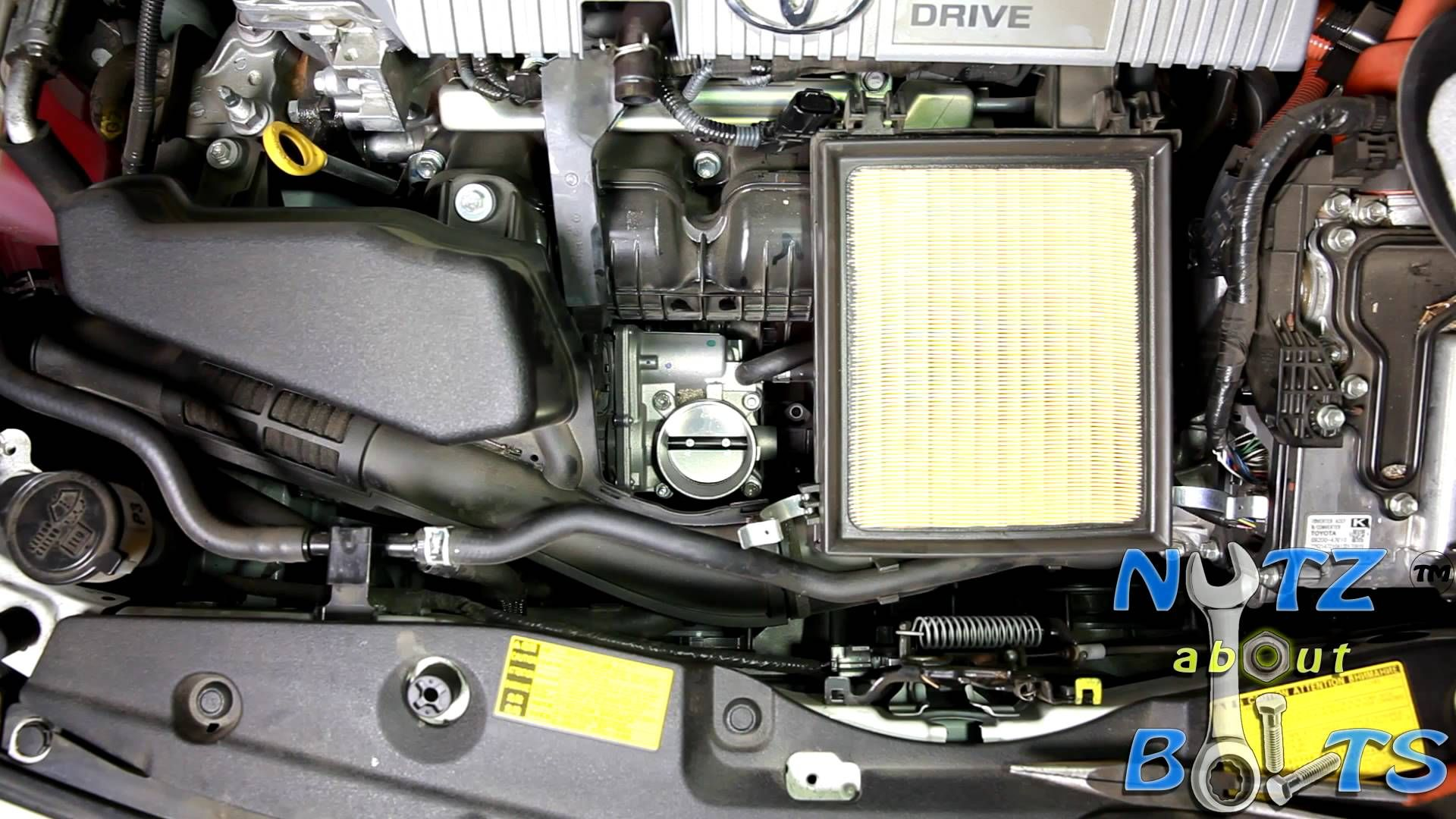 2010 2015 Toyota Prius Throttle Body Cleaning