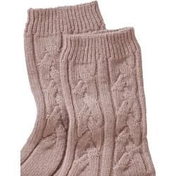 Photo of Johnstons Damen Socken Kaschmirsocken rosa Johnstons