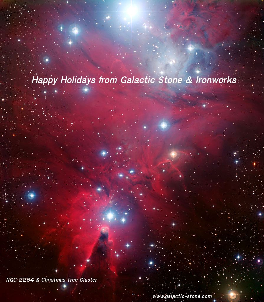 Merry Christmas and Happy Holidays from Galactic Stone and