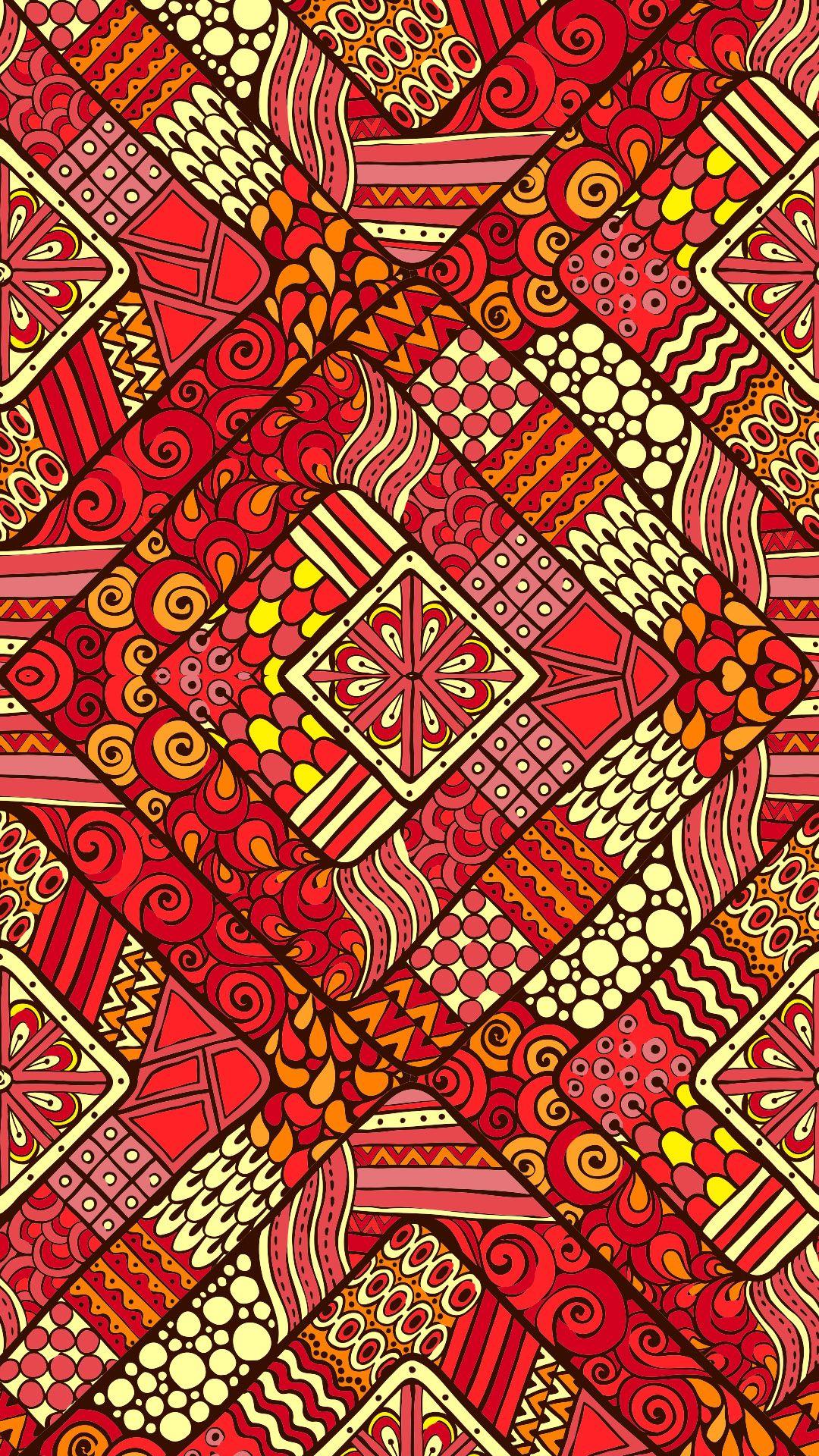 Ethnic iphone wallpaper -  Etnik Desenli Renkll Wallpaperlar Ile Iphone Unuz Yenilensin Ethnic Etnikdesen