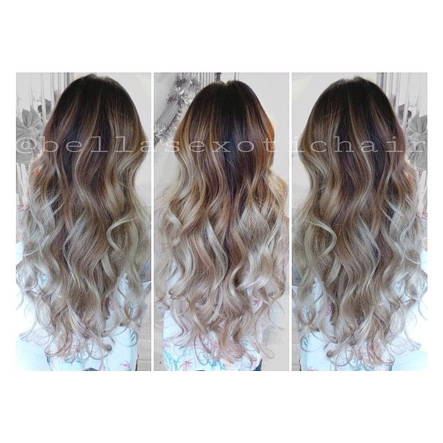 #ShareIG Chocolate melts to a true to definition ash toned balayage  #balayage #ombre