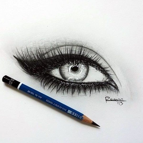 how to draw an eye 40 amazing tutorials and examples learn to