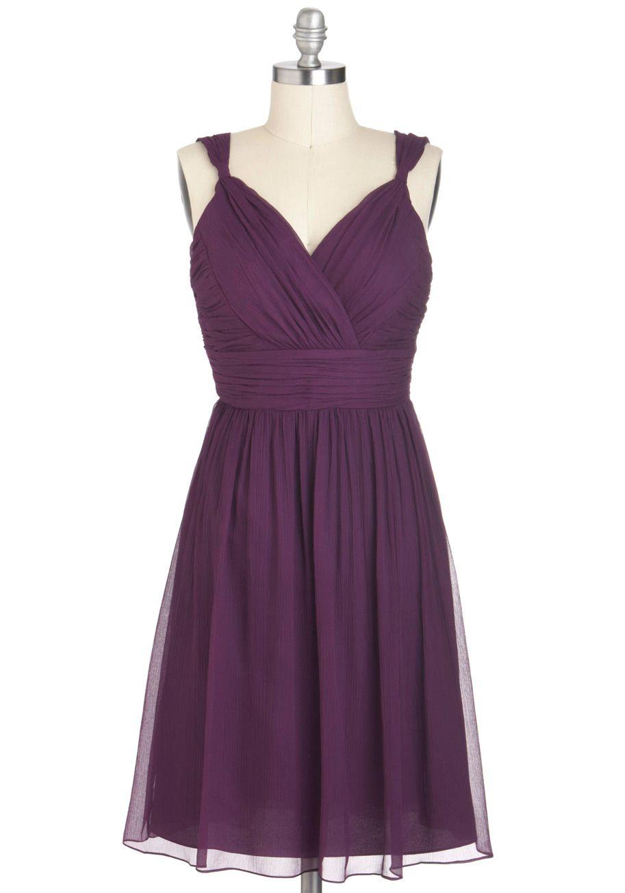 Plum perfect. Bridesmaid dress option #2. | Weddings | Pinterest ...