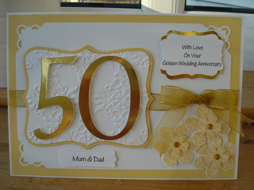 Wedding Anniversary Gifts For Parents Nz : ... parents anniversary wedding anniversary cards 50th wedding anniversary