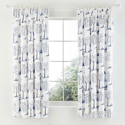 Sanderson Blue \'Willow Tree\' curtains- | Debenhams | For the home ...