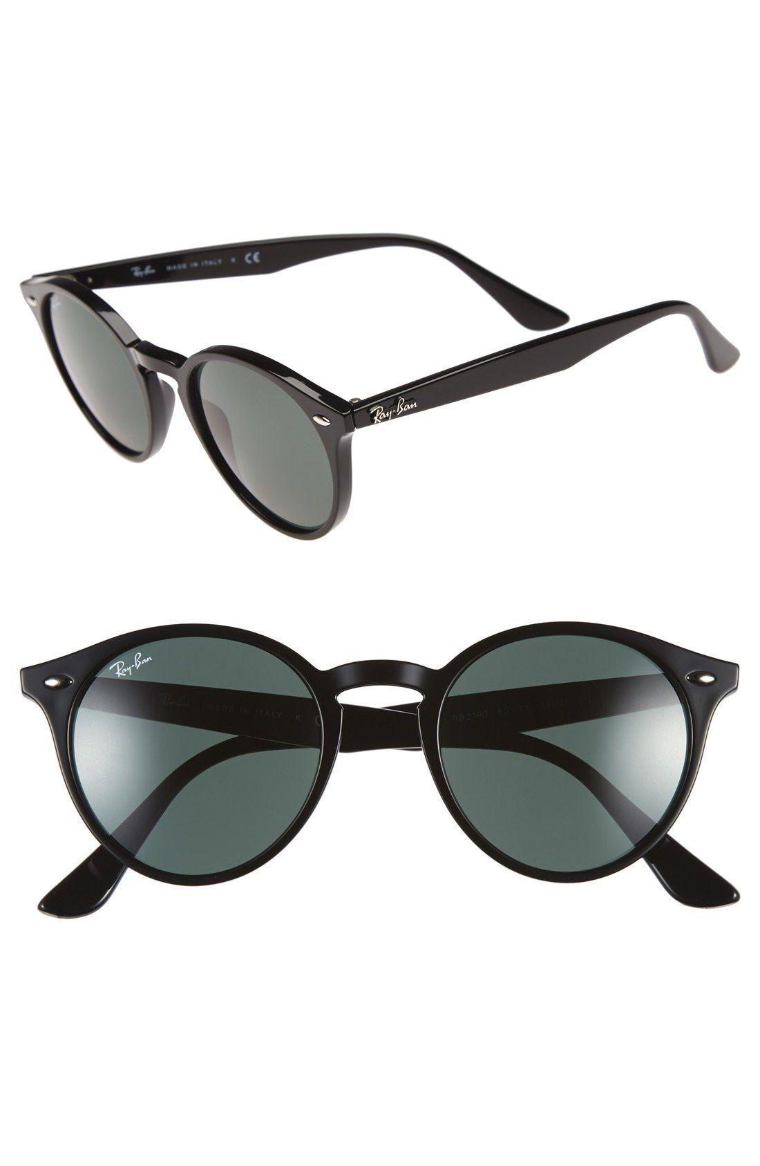 f60b69a13f Ray-Ban 'Highstreet' 49mm Sunglasses available at #Nordstrom Gafas De Sol  Redondas