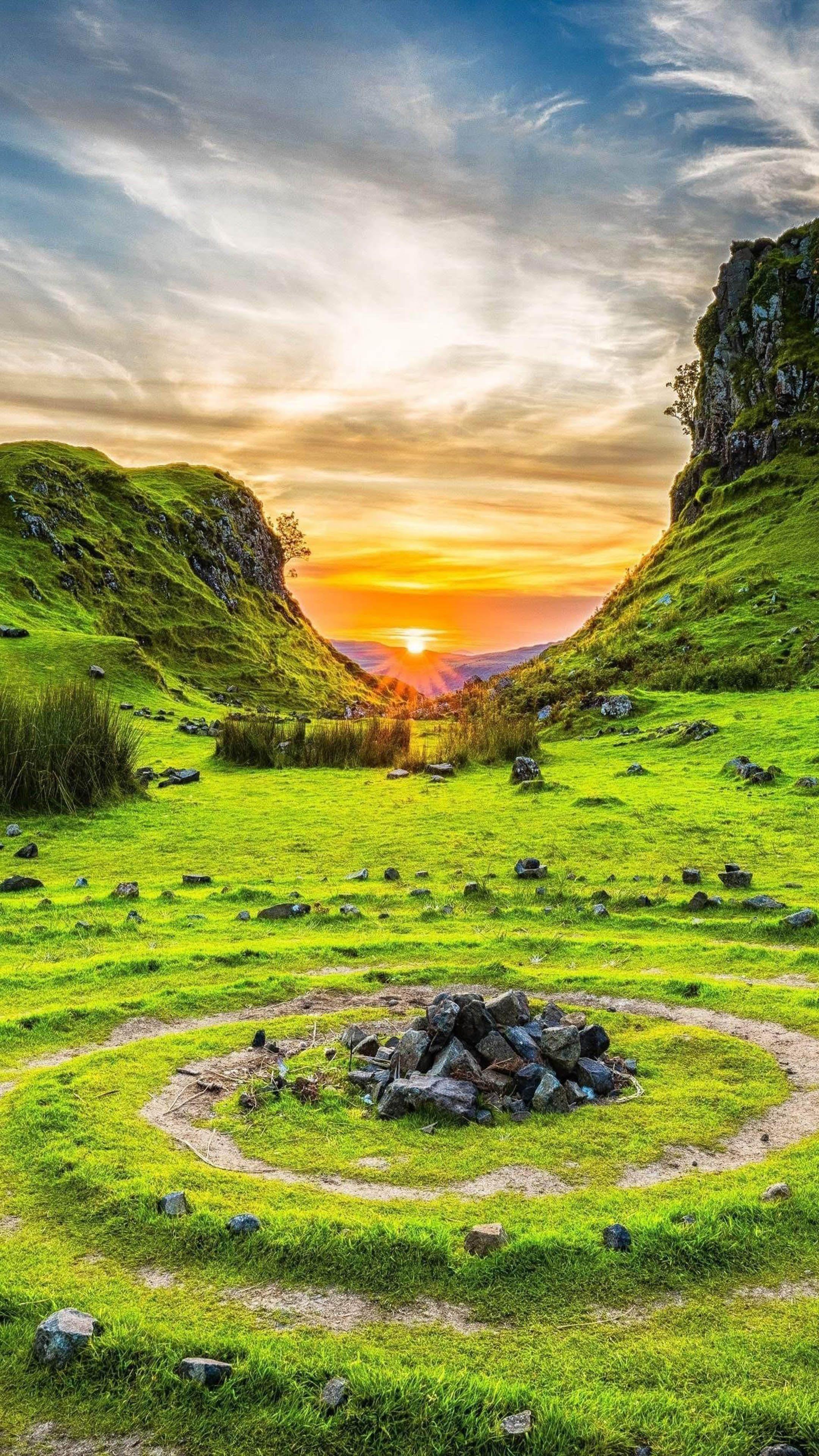 Fairy Glen Isle of Skye Scotland Skye scotland
