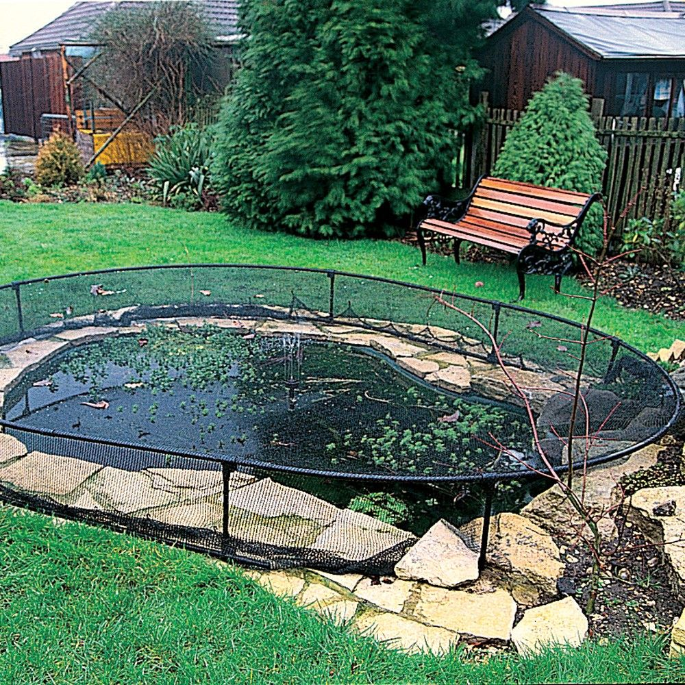 our range of pondcovers keep ponds clean from falling leaves