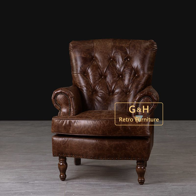 Leather Single Seater Sofa Chair In 2020 Single Sofa Chair Single Seater Sofa Single Seat Sofa