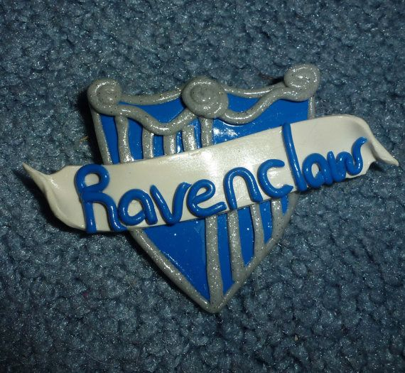 Ravenclaw House Crest Pin  G002 by artsdaughter on Etsy  #Hogwarts #harry #potter #ravenclaw