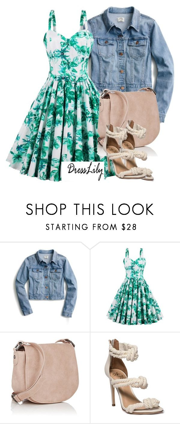 """contest"" by nutsan ❤ liked on Polyvore featuring J.Crew and Deux Lux"