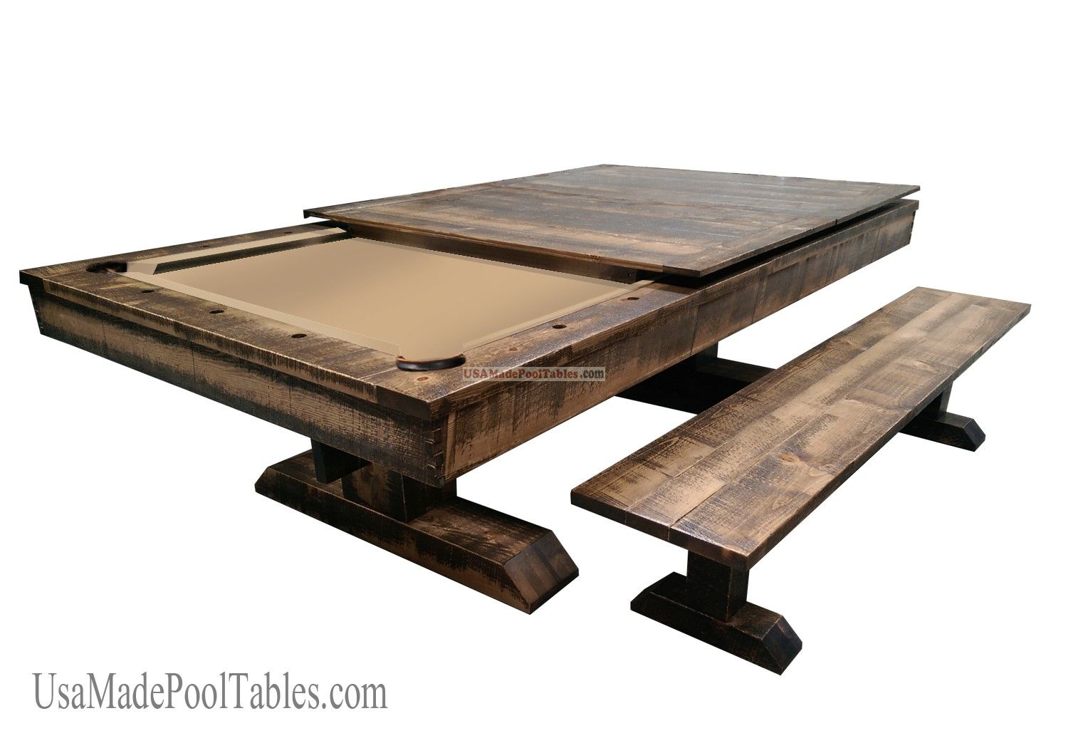 RUSTIC POOL TABLE Future Pinterest Pool table Game rooms