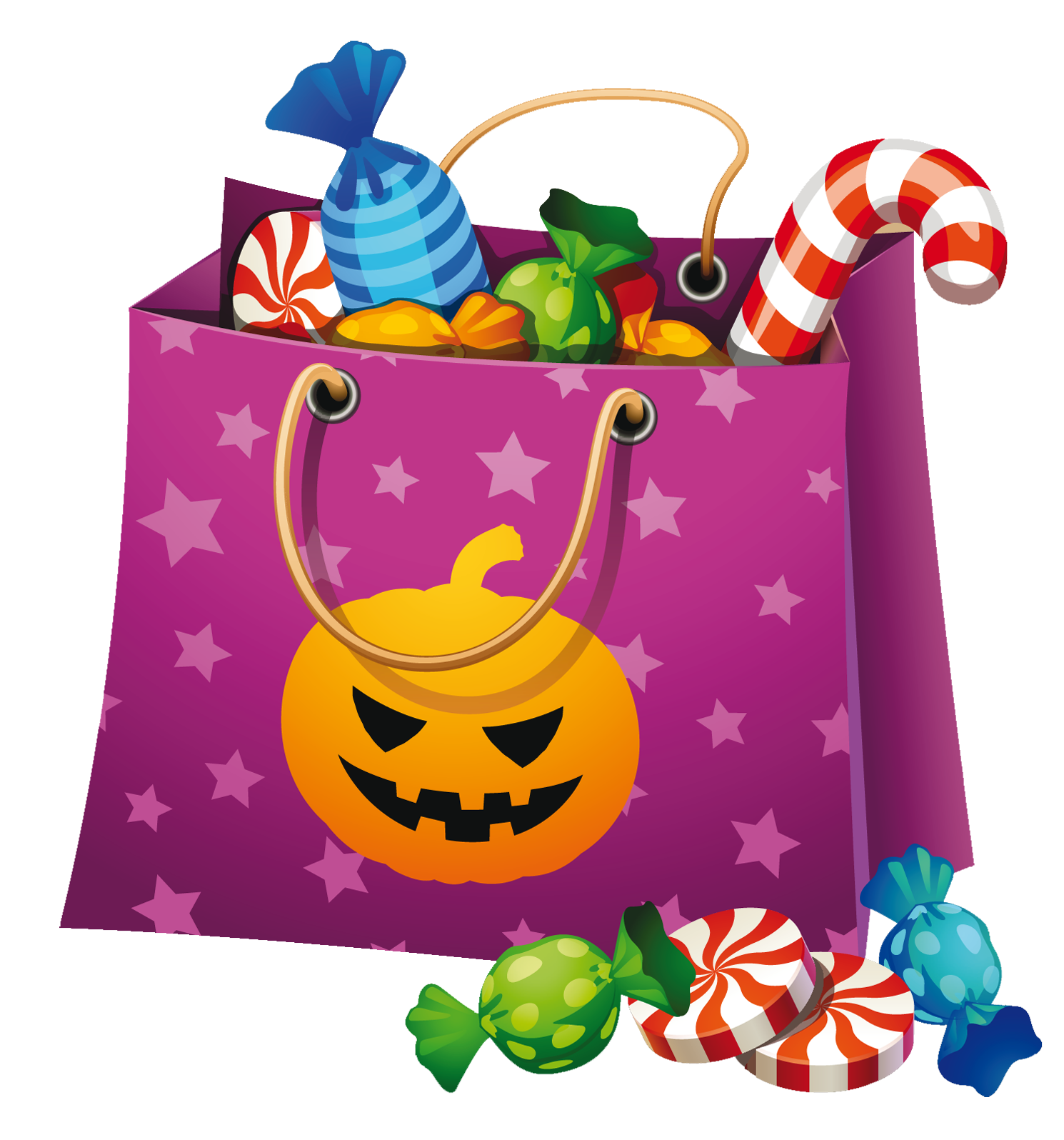 halloween png candy bag clipart clip art pinterest halloween rh pinterest ie
