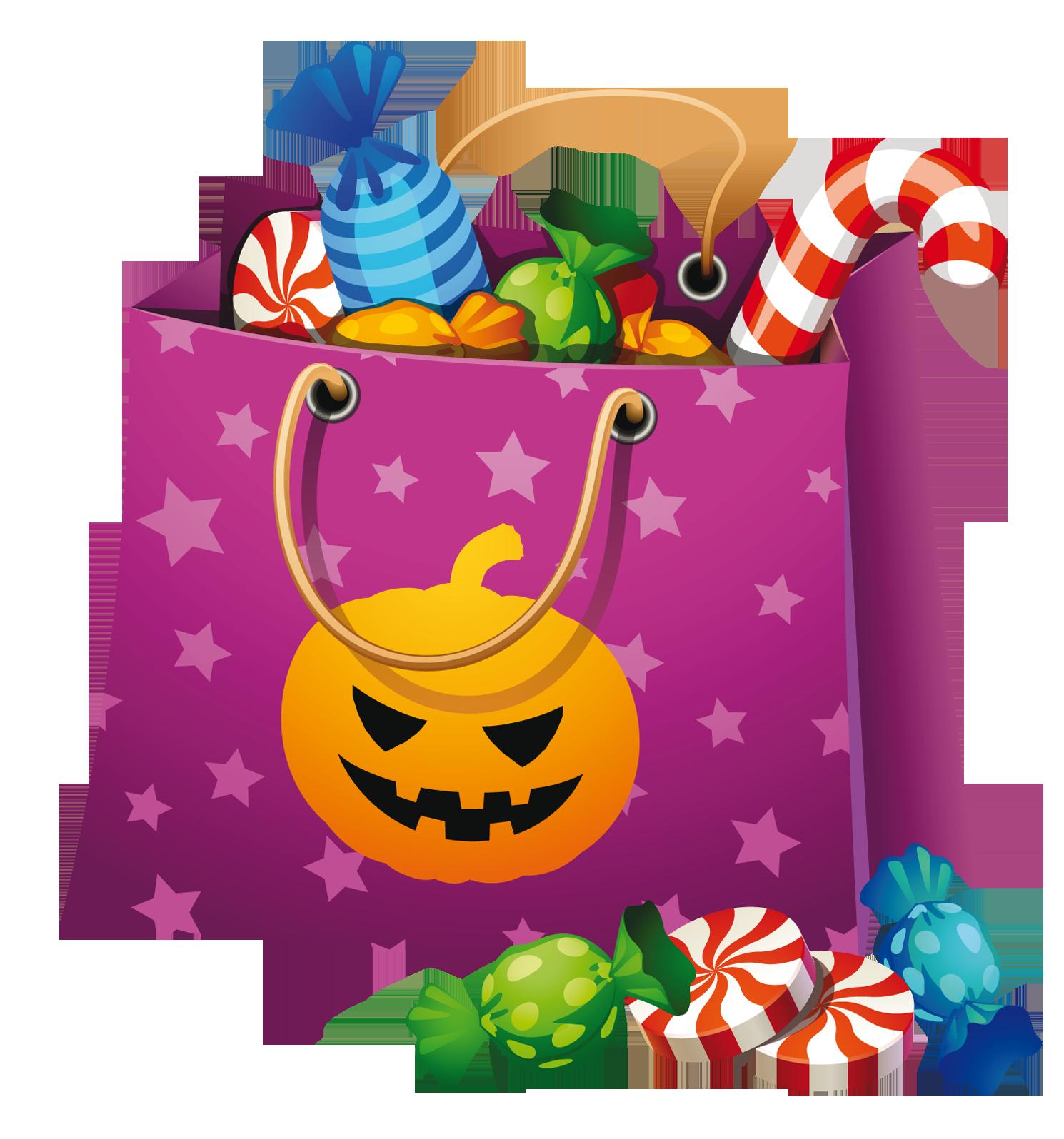 Halloween Png Candy Bag Clipart Halloween bags