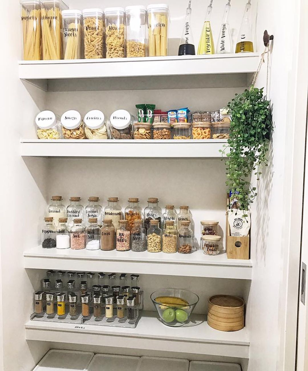 "Pantry Organisation Labels On Instagram: ""Pantry Bliss"