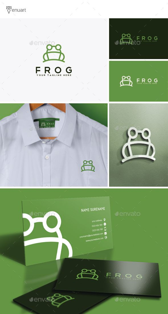 Frog logo photoshop psd agency simple available here for Frog agency