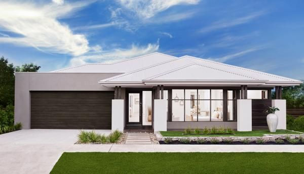 New homes single double storey designs