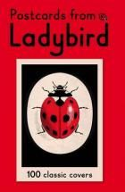 """A collection of 100 postcards, each featuring a different and iconic Ladybird book that cover from the 1940s to 1970s. From the first ever Ladybird book """"Bunnikin's Picnic Party"""", to """"Well-Loved Tales"""" and """"How It Works"""", it offers a selection from over thirty years of beloved Ladybird illustration."""