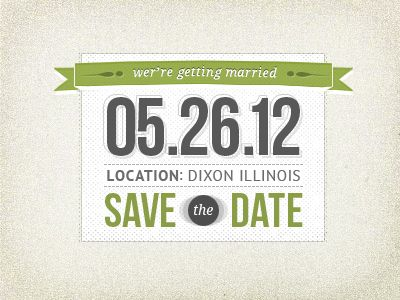 Save The Date | Typography, Wedding and Weddings
