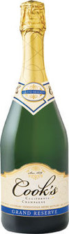Cook's Grand Reserve - inexpensive sparkling wine