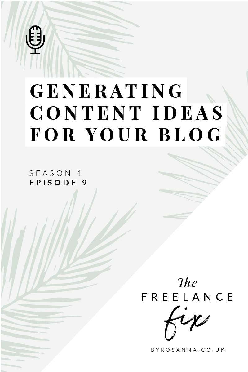 How to generate content ideas for your blog The