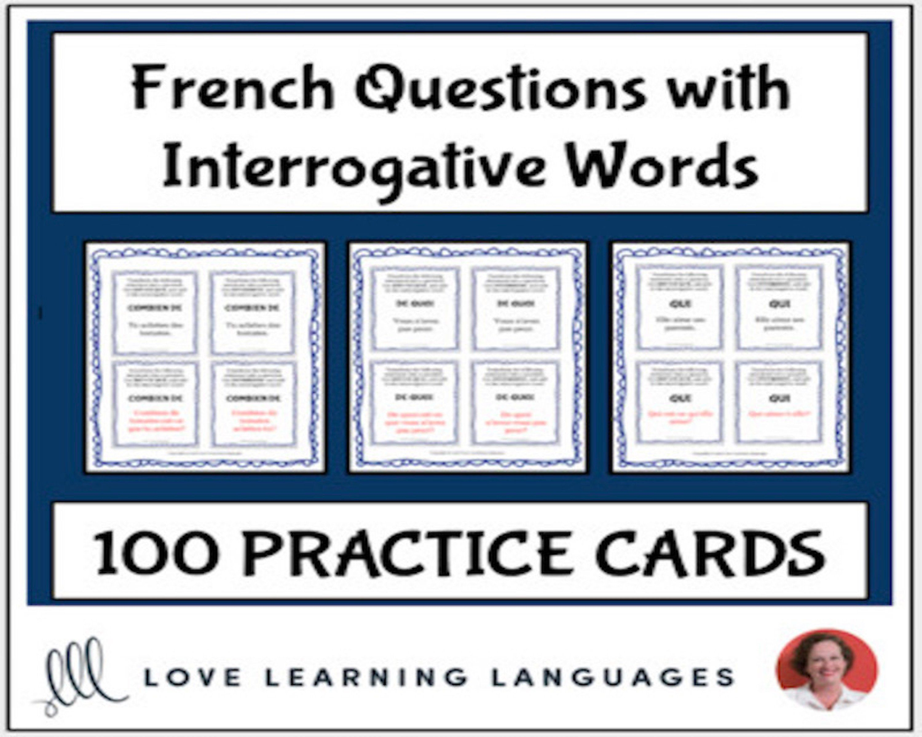 Forming French Questions With Interrogative Words
