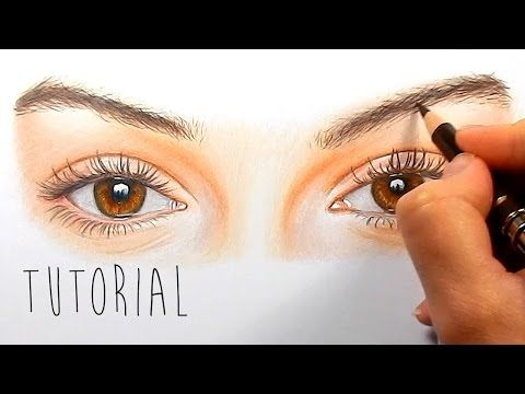 In this tutorial, Emmy Kalia will show you the techniques on how she used drawing these realistic eyes with colored pencils.