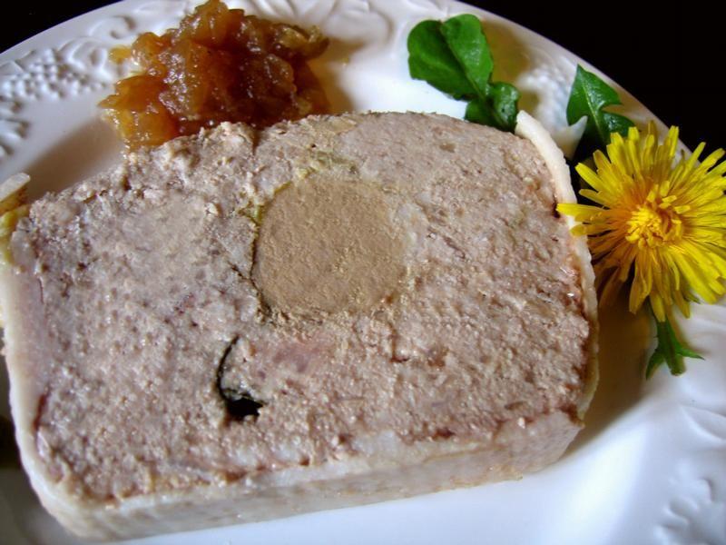 recette terrine de cagne au foie gras terrine et pate