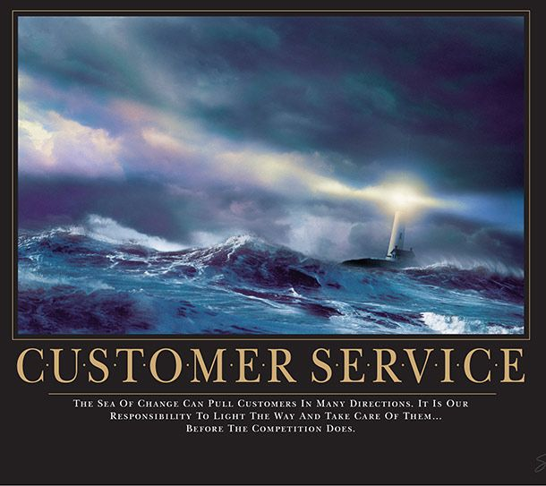 9 Iconic Motivational Posters Customer Service Quotes Motivational Posters Work Quotes Inspirational