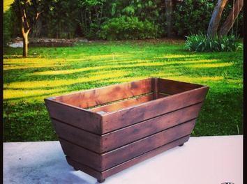 fabriquer un bac plantes r cup bois jardin sapin diy terrasse scie onglet bac plantes spax. Black Bedroom Furniture Sets. Home Design Ideas